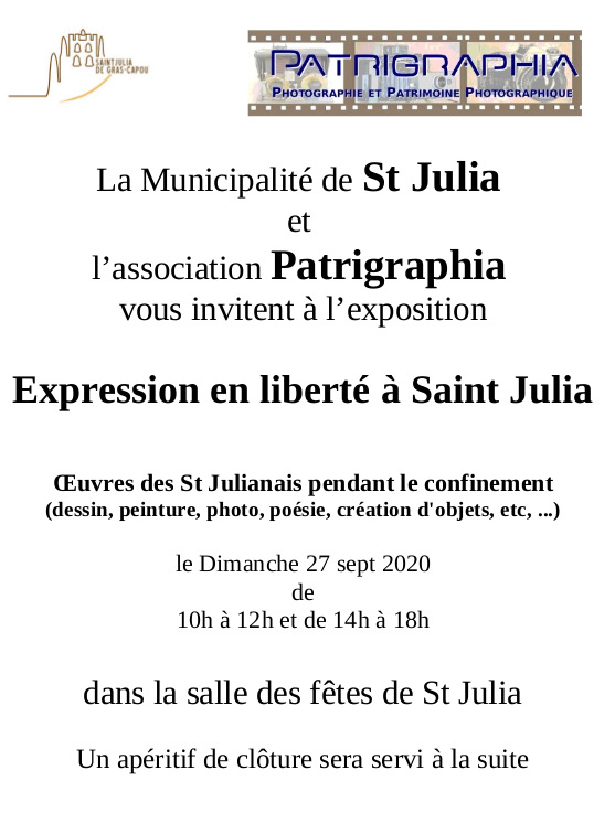 Les travaux des Saint Julianais pendant le confinement